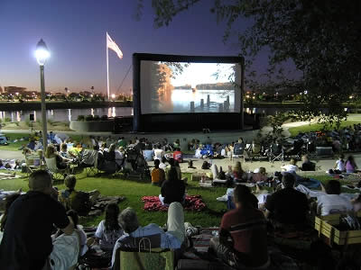 FREE Movie under the Stars ~ September 6, 2013 @ Thompson Park!